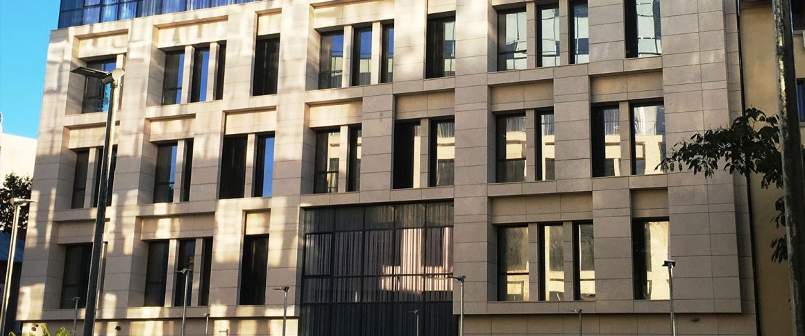 Natural stone in exterior design - Uses and applications
