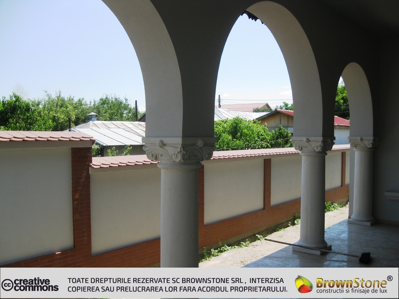 Imagini Tencuiala Decorativa Exterior.Decoratiuni Exterioare Brownstone