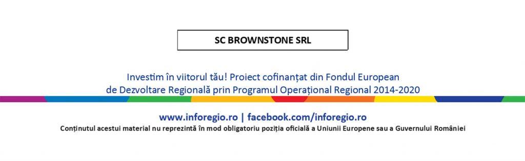 Lansarea proiectului Diversificarea activităţii firmei SC BROWNSTONE SRL