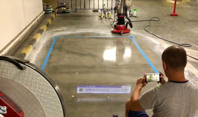 Șlefuirea și recondiționarea pardoselilor din beton