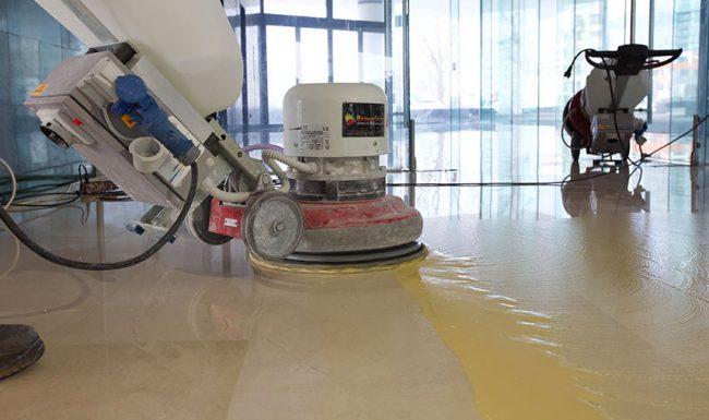 Folosirea tehnologiei moderne pentru șlefuire marmură